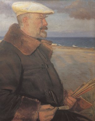 Anna Ancher Michael Ancher Wandbild