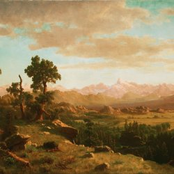 Albert-Bierstadt-Wind-Fluss-Land