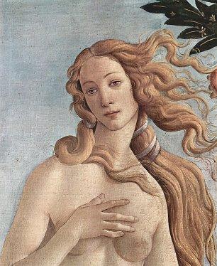Sandro Botticelli Geburt der Venus Detail 3 Wandbilder