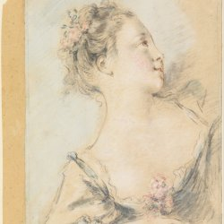 Francois-Boucher-Bust-of-a-young-girl
