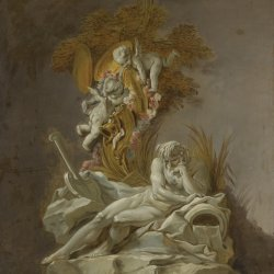 Francois-Boucher-Fountain-Study-I