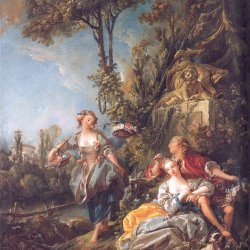 Francois-Boucher-Lovers-in-a-Park