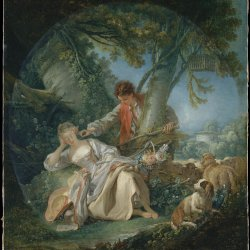 Francois-Boucher-The-Interrupted-Sleep