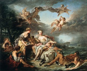Francois Boucher The Rape of Europa Wandbild
