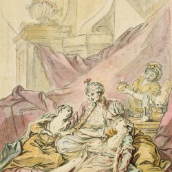 Francois-Boucher-The-pasha-in-his-harem