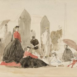 Eugene-Boudin-Crinolines-and-Cabins