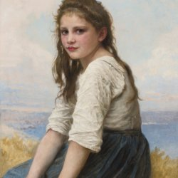 William-Adolphe-Bouguereau-Au-bord-de-la-mer