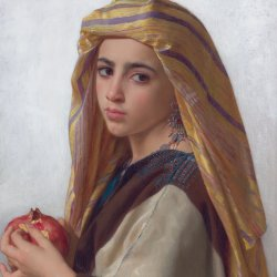 William-Adolphe-Bouguereau-Girl-with-a-pomegranate