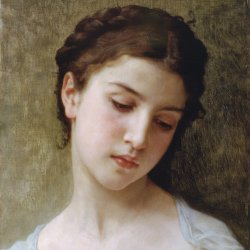 William-Adolphe-Bouguereau-Head-Of-A--Young-Girl