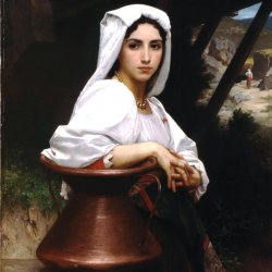 William-Adolphe-Bouguereau-Italian-Girl-Drawing-Water