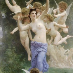 William-Adolphe-Bouguereau-Le-Guepier
