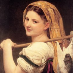 William-Adolphe-Bouguereau-Le-retour-du-marche