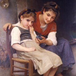 William-Adolphe-Bouguereau-Little-Sulky