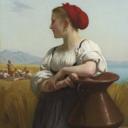 William-Adolphe-Bouguereau-Moissonneuse