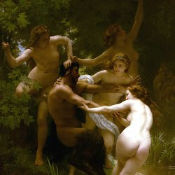 William-Adolphe-Bouguereau-Nymphs-and-Satyr