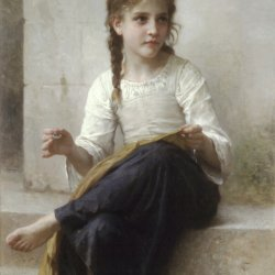 William-Adolphe-Bouguereau-Sewing