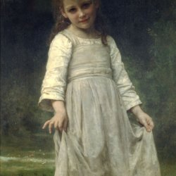William-Adolphe-Bouguereau-The-Curtsey