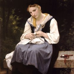 William-Adolphe-Bouguereau-Young-Worker