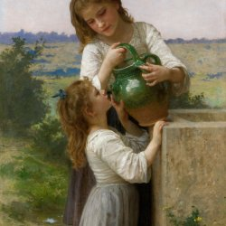 William-Adolphe-Bouguereau-a-la-fontaine