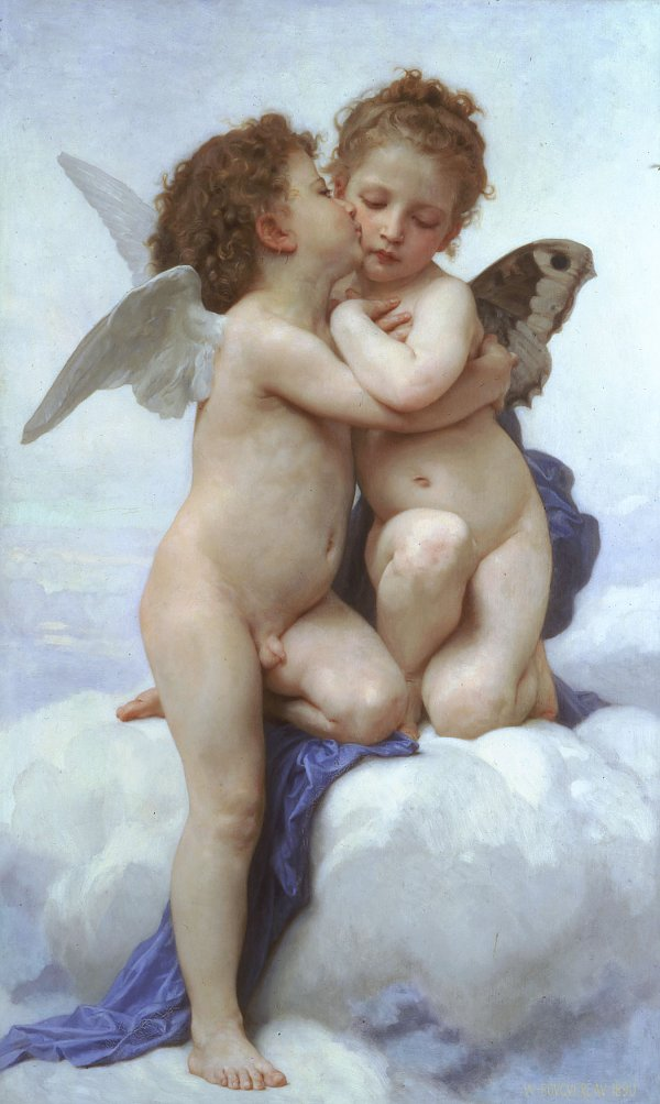 William Adolphe Bouguereau first kiss
