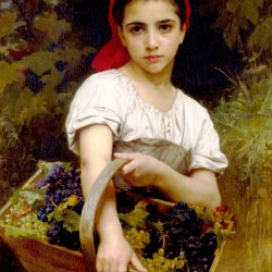 William-Adolphe-Bouguereau-the-grape-picker