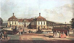 Canaletto II Ansicht von Wien Schloss Wandbilder