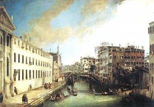 Canaletto Der Rio dei Mendicanti Wandbilder