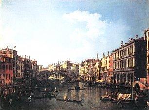 Canaletto Die Rialtobruecke von Sueden Wandbilder