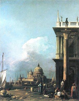 Canaletto Muendung des Canal Grande Blick von der Piazzetta aus Wandbilder
