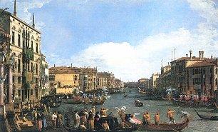Canaletto Regatta auf dem Canal Grande Wandbilder