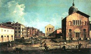 Canaletto Vedute von San Giuseppe di Castello Wandbilder