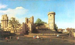 Canaletto Warwick Castle Ostseite Wandbilder