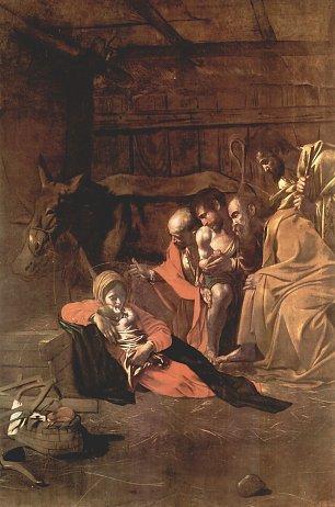 Michelangelo Caravaggio Anbetung der Hirten Wandbilder