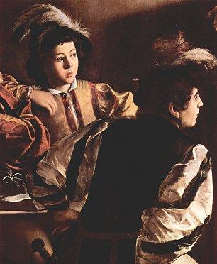 Michelangelo Caravaggio Berufung des Hl Matthaeus Detail 2 Wandbilder