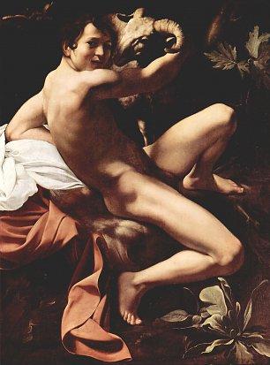 Michelangelo Caravaggio Hl Johannes der Taeufer Wandbilder