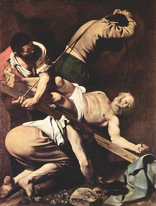 Michelangelo Caravaggio Kreuzigung des Paulus Wandbilder