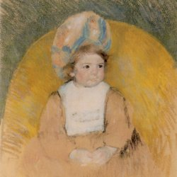 Mary-Cassatt-Girl-Seated-in-a-Yellow-Armchair