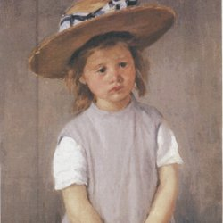 Mary-Cassatt-Girl-with-a.Strawhat