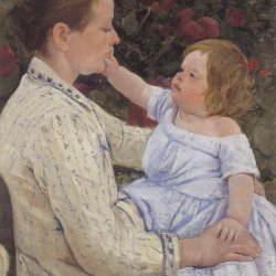 Mary-Cassatt-The-Child's-Caress