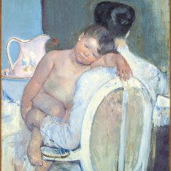 Mary-Cassatt-Woman-Sitting-with-a-Child-in-Her-Arms
