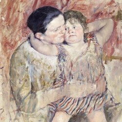 Mary-Cassatt-Woman-and-Child