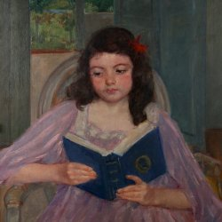 Mary-Cassatt-francoise-in-a-round-backed-chair-reading