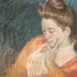 Mary-Cassatt-portrait-of-a-young-woman