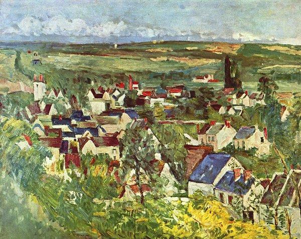 Paul Cezanne Blick auf Auvers