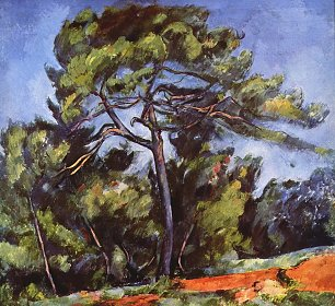 Paul Cezanne Die grosse Kiefer