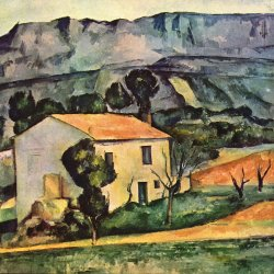 Paul-Cezanne-Haus-in-der-Provence