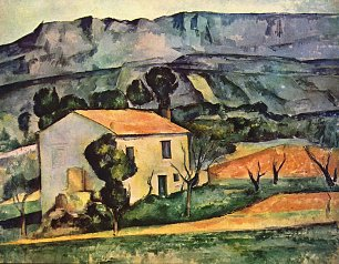 Paul Cezanne Haus in der Provence