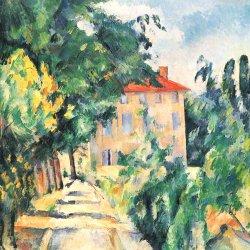 Paul-Cezanne-Haus-mit-rotem-Dach