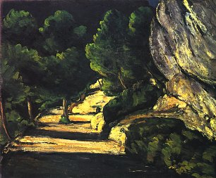 Paul Cezanne Landschaft 1