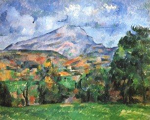 Paul Cezanne Montagne Saint Victoire Wandbilder